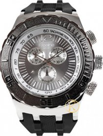 FREELINE Fashion Black Rubber Strap 6944E