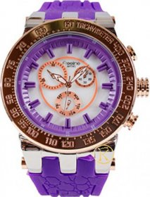 Freeline Purple Rubber Strap 7014-1