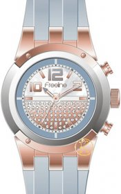 FREELINE Fashion Grey Rubber Strap 8408-4