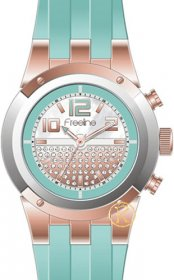FREELINE Fashion Turquoise Rubber Strap 8408-5