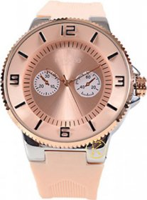 Freeline Unisex Watch Nude Rubber Strap 8414-2