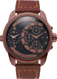THORTON Vidar Brown Leather Chronograph 9001171