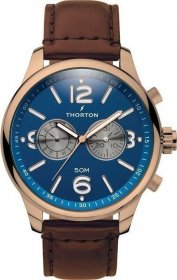 Thorton Ragnar Brown Leather Strap 9002151