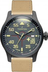 THORTON Rolf Brown Leather Strap 9006212