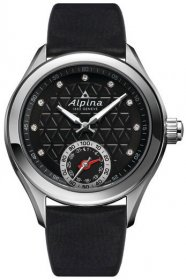 Alpina Women's 'HOROLOGICAL SMART' Quartz Stainless Steel and Rubber Casual Watch AL-285BTD3C6