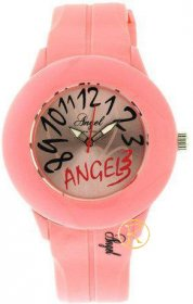 Angel Pink Rubber Strap AP1410P