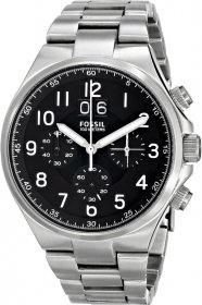Fossil Qualifier Chronograph Stainless Steel Watch CH2902