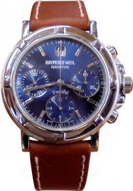 Raymond Weil Brown Leather Strap 7231-ST-50001