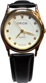Orion Black Leather Strap A-41762