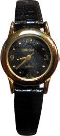 Orion Black Leather Strap A-41813