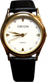 Orion Black Leather Strap A-41837