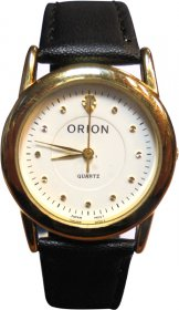 Orion Black Leather Strap A-41835