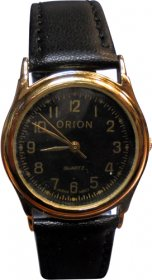 Orion Black Leather Strap A-41834