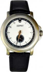 Esprit Black Leather Strap ES103020022904