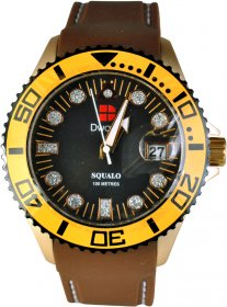 D-Watch Brown Rubber Strap 11009 05