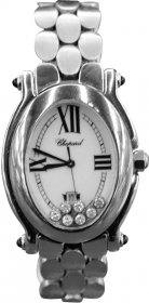 Chopard Women's Happy Sport Oval Mother-Of-Pearl Dial Watch 278418-3002