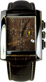 Guess Collection Brown Leather Strap GC40500