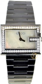 Gucci Stainless Steel Bracelet Watch YA100510