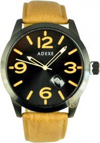 Adexe Yellow Leather Strap 009866A-5