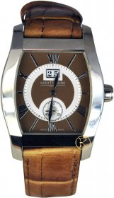 Saint Honore Brown Leather Strap Modele Depose 8930521MRA
