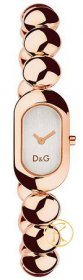 D&G Ladies 'Treats' Stainless Steel Rose Gold DW0229