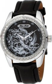Marc Ecko Watch Black Leather Strap E95042G7