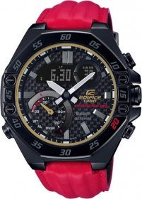 Casio Edifice Honda Racing Special Εdition Red ECB-10HR-1AER