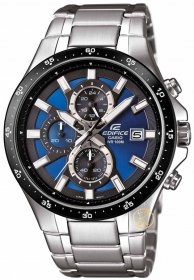 CASIO Edifice Chrono Stainless Steel Bracelet EFR-519D-2AVEF