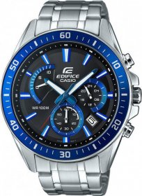 CASIO Edifice Stainless Steel Chronograph EFR-552D-1A2VUEF