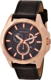 Ferrucci Leather Band Watch With Date FC7109.02