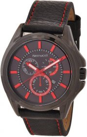 Ferrucci Leather Band Watch With Date FC7109.03