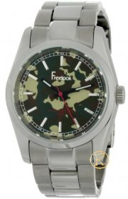 Freelook Men's Viceroy Camouflage Dial Stainless-Steel HA5304-4E