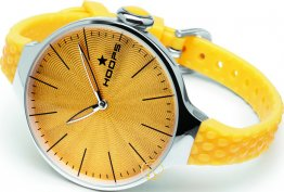 HOOPS Cherie L Yellow Rubber Strap 2502L03