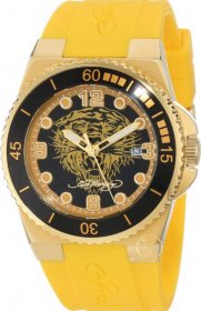 Ed Hardy Women's Immersion Yellow Watch IM-YTG