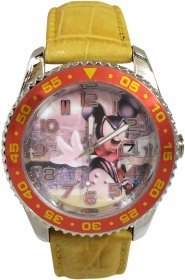 Disney Mickey Leather Strap 9921-01