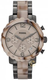 Fossil Women's Natalie Stainless Steel Two-Tone Watch JR1383