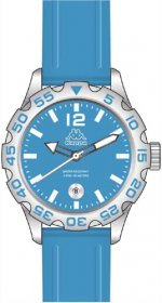 Kappa Light Blue Rubber Strap KP-1401L-D