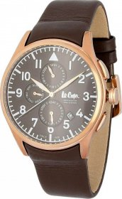 Lee Cooper Brown Leather Strap LC-49G-C