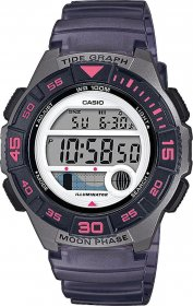 Casio 1100h 8avef Grey Rubber Grey LWS-1100H-8AVEF