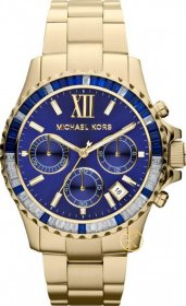 Michael Kors Watch Women's Chronograph Gold-Tone Stainless Steel Bracelet MK5754