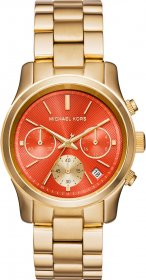 MICHAEL KORS Runway Gold Stainless Steel Chronograph MK6162