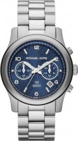 Michael Kors Watch Hunger Stop Runway Stainless Steel Chronograph MK8314