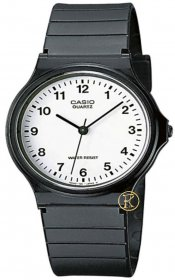 Casio Mens Classic Analogue Watch MQ-24-7BLL