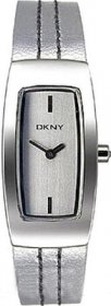 DKNY Silver Leather Strap NY3297