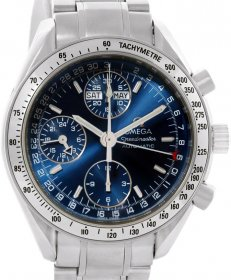 Omega Speedmaster Chronograph Day Date Watch 35238000
