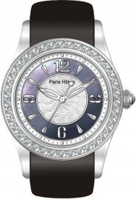 Paris Hilton Black Leather Strap 138.4627.60