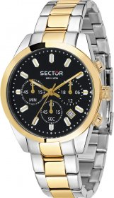 SECTOR 245 Chrono Two Tone Stainless Steel Bracelet  R3273786001