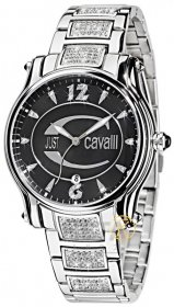 Just Cavalli Ladies Eclipse Crystal Stainless Steel Bracelet R7253168545