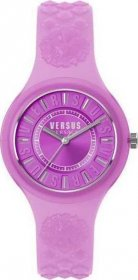 VERSUS by VERSACE Fire Island Purple Rubber Strap SOQ110017