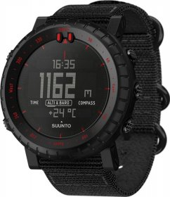 SUUNTO Core Red Black Fabric Strap SS023158000